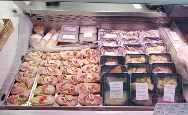 Hotovky a obložené chlebíčky